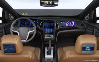 Standardization Key to Next-Generation In-Vehicle Sensor and Display Connectivity