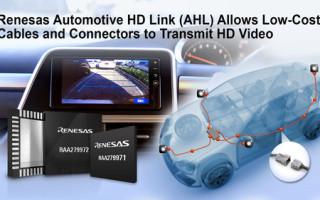New Renesas Automotive HD Link Solution For Automotive Cameras