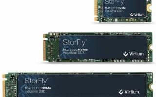 Virtium Introduces M.2 NVMe PCIe Gen4 Industrial SSD Platform