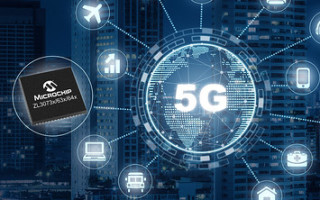 First Single-Chip Network Synchronization Solution Provides Precise Timing for 5G Radio Access Equipment