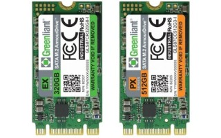 Greenliant Samples EnduroSLC SSDs with 60K, 120K and 300K P/E cycles, and TLC SSDs with 5K P/E cycles