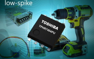 Toshiba launches low-spike-type 40V, N-channel power MOSFET