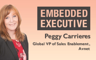 Embedded Executive: Peggy Carrieres, Global VP of Sales Enablement, Avnet