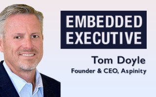 Embedded Executive: Tom Doyle, Founder and CEO, Aspinity