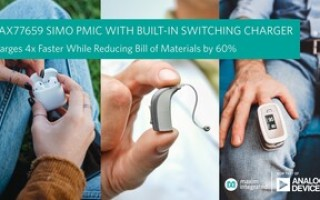 Tiny Power Management IC from Analog Devices Charges Wearables and Hearables Four Times Faster
