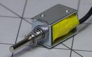 5V solenoid (Image Credit: Jeremy Cook)