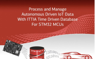 ITTIA Embedded Time Series Database to Support STM32 Edge Devices
