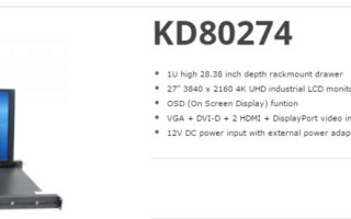 The KD80274 is a 27? Ultra High Resolution LCD