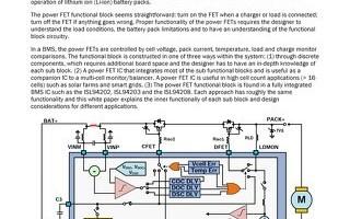 Making Li-ion Battery Packs Safer
