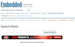 New Inventory Search Tool helps engineers cut to the chase in component selection