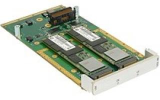 New XMC Storage Module