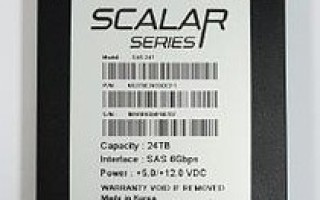 SAS flash disk with 24 Tbyte capacity from Novachips