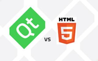 Qt or HTML5. A Million Dollar Question