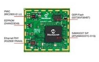 Simplify Industrial-Grade Linux Designs with SAMA5D2 MPU-Based SOM