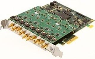 Spectrum general purpose digitizers' maximum sampling rate increased from 80 to 125 MS/s