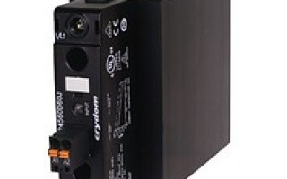 Sensata's NOVA22 solid state relay now features 45mm DIN rail model