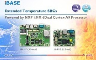 Extended temperature SBCs powered by NXP i.MX 6Dual Cortex-A9 processor
