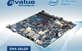 Avalue introduces EMX-SKLGP, a Thin Mini ITX 6th Gen Intel Core SoC i7/i5/i3 & Celeron Embedded Industrial motherboards