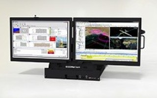 Chassis Plans Bi-Fold Rugged LCD Display Systems - first double side-by-side 24-inch rugged displays
