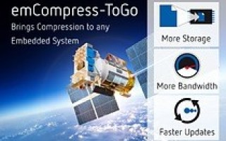 emCompress-ToGo Compression Algorithm Enables Data Logging, Wireless Transmission for Resource-Constrained Embedded Systems