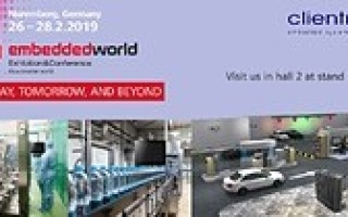 Clientron to display its latest embedded computing solutions at Embedded World 2019