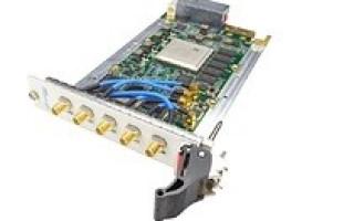 VadaTech Announces New 3U VPX, Dual RF Agile Transceiver with VITA 67.2 RF Connector