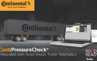 Continental?s ContiPressureCheck TPMS Joins Forces with Truck-Lite Co.?s Road Ready Trailer Telematics