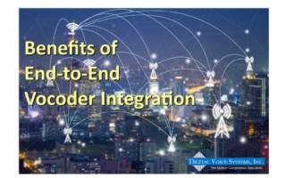 Benefits of End-to-End Vocoder Integration