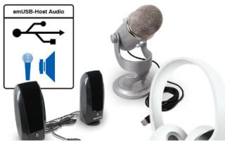 Audio Support Added to SEGGER emUSB-Host