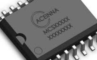 ACEINNA AMR Current Sensors Now Support 3.3V Apps