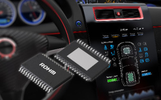 ROHM's Automotive-Grade Backlight LED Driver Optimized for LCD Panels