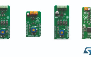 STMicro's STSPIN Modules for High-Performing Motor Drivers Serve MikroElektronika Fusion for Arm Ecosystem