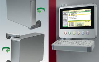 ROLEC Releases 180-Degree Pivot Mount For Designer HMI Enclosures