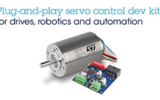 STMicro, maxon Launch 100 W BLDC Motor Control Development Kit