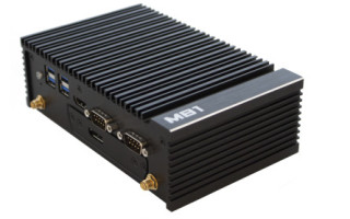 Modular Embedded PC with Apollo Lake Power and PoE functionality