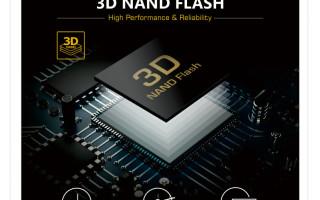 Cervoz 3D MLC and TLC NAND Flash Storage Solution