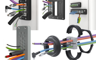 Tool-Less KDS and KES Cable-Entry Systems Offer Strain Relief, IP66 Protection