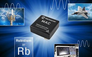 Microchip Announces New Next-Generation Miniaturized Rubidium Atomic Clock