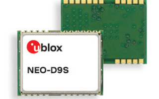 New L-band Receiver from u-blox Enables Centimeter-Level Positioning