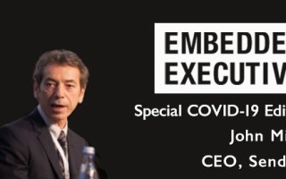 Special COVID-19 Edition of Embedded Executives: John Milios, CEO, Sendyne