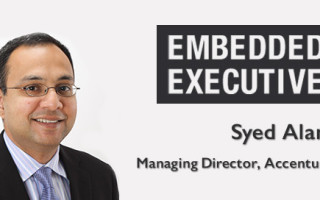 Embedded Executives: Syed Alam, Managing Director, Accenture