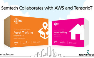 Semtech Collaborates with AWS and TensorIoT to Simplify IoT Solution Development
