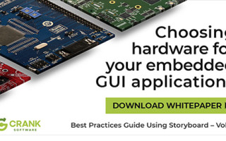 Choosing the Correct Hardware Platform for Embedded GUI Applications