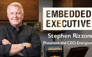 Embedded Executive: Stephen Rizzone, President and CEO, Energous