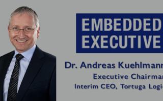 Embedded Executive: Dr. Andreas Kuehlmann, Executive Chairman, Interim CEO, Tortuga Logic