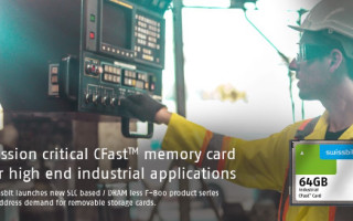 Swissbit Launches CFast Memory Card F-800 for Industrial High-End Applications