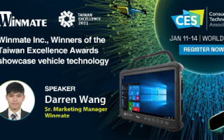 Winmate to Showcase Internet of Vehicles (IoV) Solution at All-Digital CES 2021